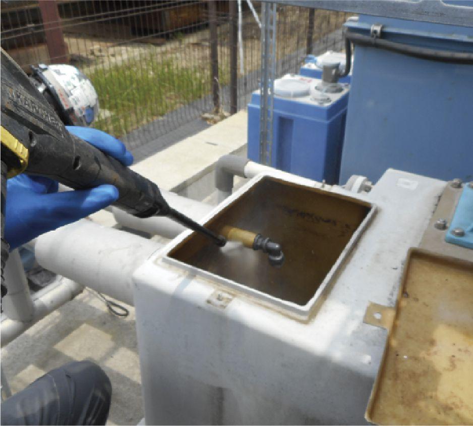 最新技術のプロ洗浄/洗浄メンテナンス
