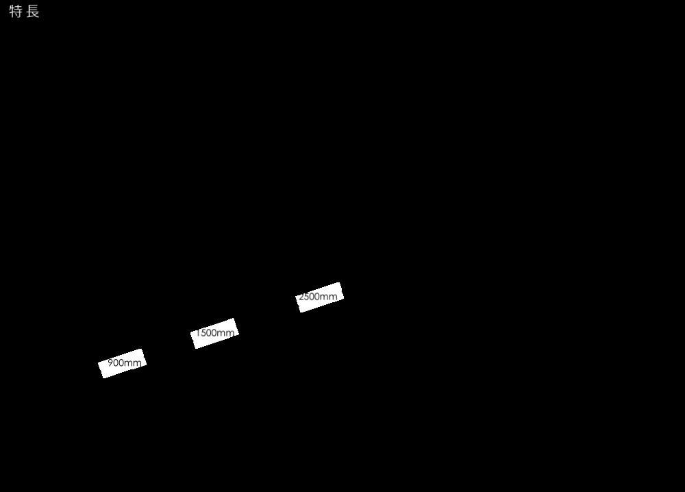 ストレイトライン特徴